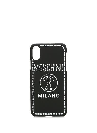 Moschino Cep Telefonu Kılıfı Siyah